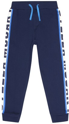 Stella McCartney Printed cotton jersey trackpants