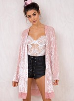 MinkPink Crush On You Gown Shell Pink