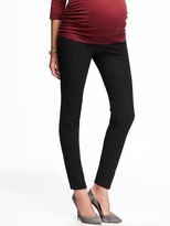 Old Navy Maternity Side-Panel Long Pixie Pants
