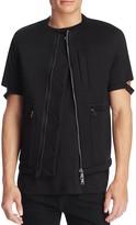 Helmut Lang Sponge Fleece Short Sleeve Jacket