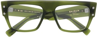 Balmain Eyewear B-III oversized square sunglasses