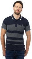 Voi Big And Tall Navy Spotted Polo Shirt