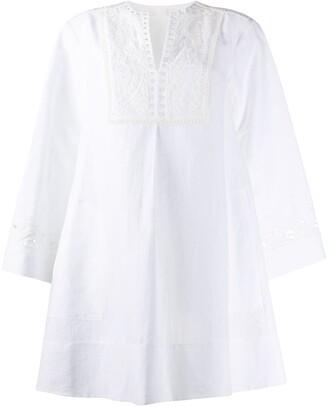 Chloé Cut-Out Detailing Shift Dress