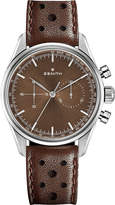Zenith 03.2150.4069/75.C806 Heritage 146 stainless steel and leather watch