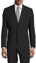Nick Graham Checkered Notch Lapel Sportcoat