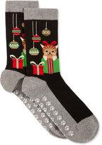 Hot Sox Women's Cat and Ornaments Socks