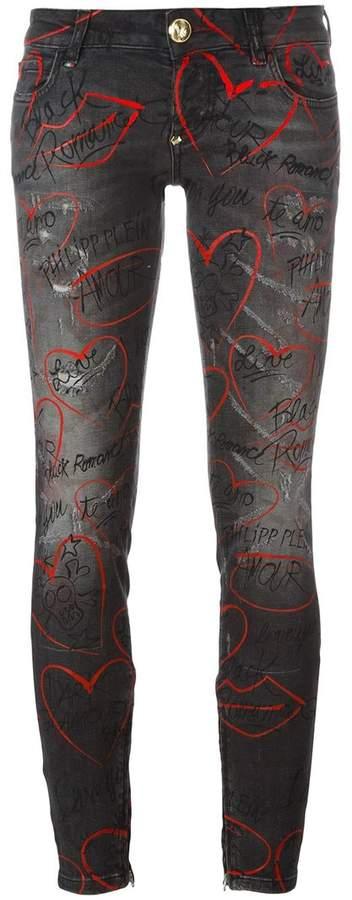 Philipp Plein 'Little Friend' skinny jeans