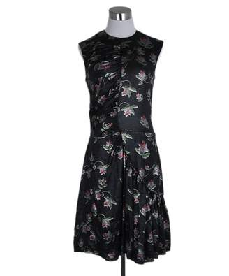 Preen Black Silk Dresses
