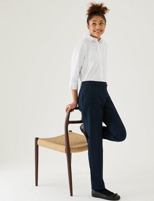 Marks and Spencer Girls' Skinny Leg School Trousers