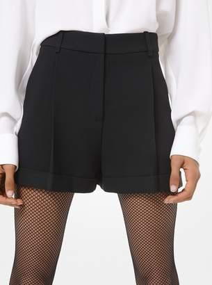 Michael Kors Double Crepe Sable Shorts