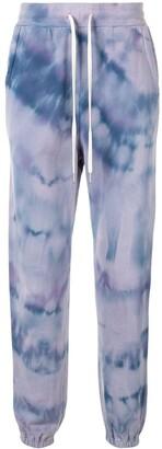 John Elliott Tie Dye Print Track Pants