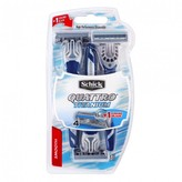 Schick Quattro Titanium Disposable Razors 3 pack