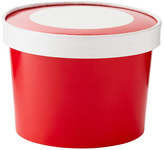 Container Store Ice Cream Pints Red Pkg/6