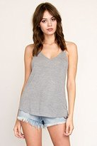 RVCA Juniors Sheila Loose Fit Tank with Cute Back