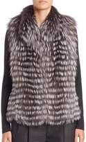 Michael Kors Horizontal Fox Fur Vest