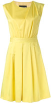 Moschino pleated shoulder dress