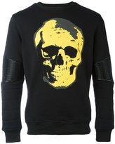 Philipp Plein United sweatshirt - men - Cotton/Polyester/Polyurethane/Spandex/Elastane - S
