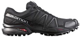 Salomon Speedcross 4 Trail Shoe - Mens/Black/Metal, Size US 07.5
