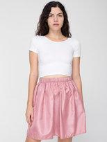 American Apparel Vintage Taffeta Mini Skirt