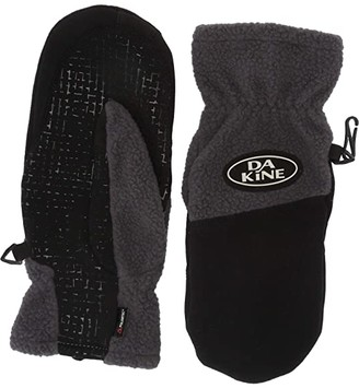 Dakine Transit Fleece Mitt Gloves (Shadow) Extreme Cold Weather Gloves