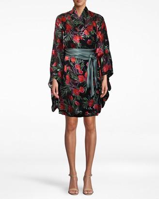 Nicole Miller Spring Garden Kimono Dress