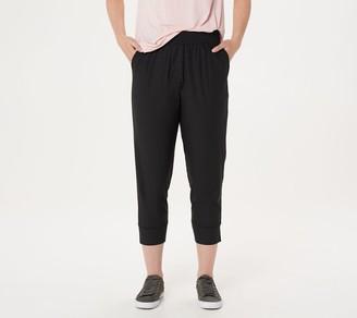 Isaac Mizrahi Live! Petite SOHO Quick Drying Jogger Pants