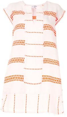 Lemlem Abstract-Pattern Mini Dress