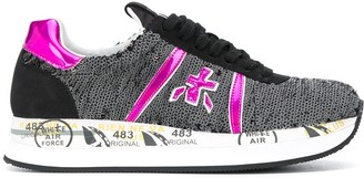 Premiata Conny sequined sneakers