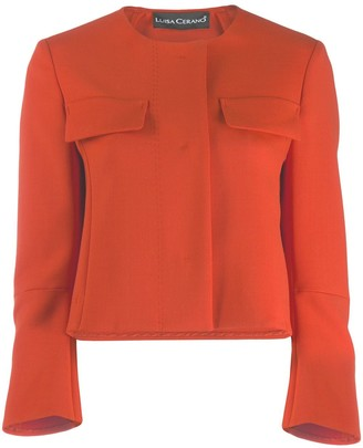 Luisa Cerano Concealed Front Jacket