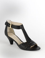 NINE WEST At The Party T-Strap Sandals