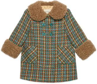 Gucci Baby wool tweed coat