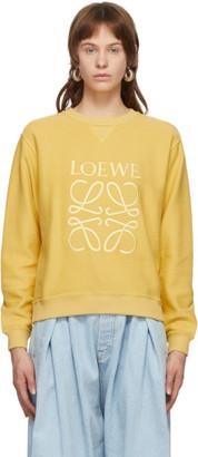 Loewe Yellow Anagram Sweatshirt