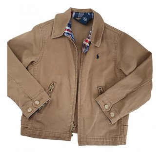 Polo Ralph Lauren Camel Cotton Jackets & Coats