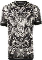 Dolce & Gabbana Madonna Bambino print t-shirt - men - Silk/Cotton - 46