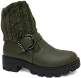 Bamboo Olive Tread Boot