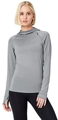 Active Wear Activewear Women's Hooded Running Top,Medium