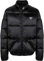 Love Moschino padded logo patch jacket