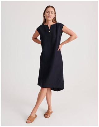 Regatta Sleeveless V-Neck Dress With Button
