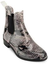 Lauren Ralph Lauren Tally Snakeskin-Print Chelsea Rain Boots