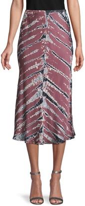 Young Fabulous & Broke Tie-Dye Pull-On Skirt