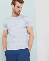 Ted Baker Micro print cotton Tshirt