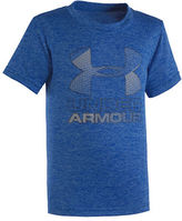 Under Armour Hybrid Graphic Printed Logo Tee
