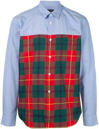 Comme des Garçons Homme Plus Tartan print dress shirt