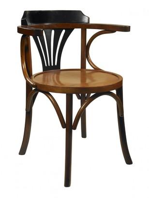 Am Living Honey/black Desk Chair