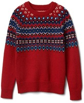 Gap Fair isle crew sweater