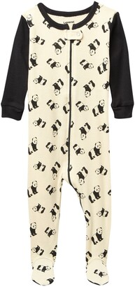 Leveret Panda Footed Pajama Sleeper