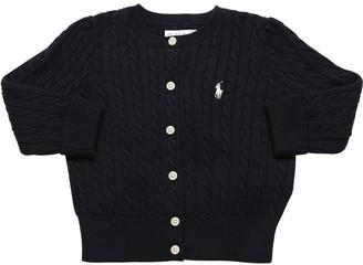 Ralph Lauren Cotton Knit Cardigan