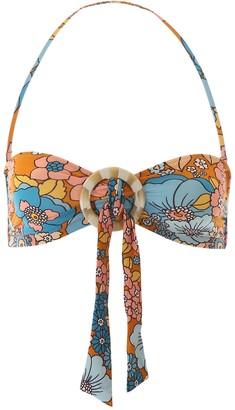 Dodo Bar Or Floral Print Bikini Top
