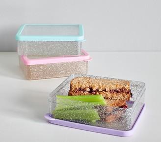 Pottery Barn Kids Spencer Glitter Sandwich Food Storage