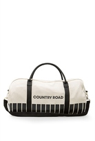 Country Road Block Linen Logo Tote
